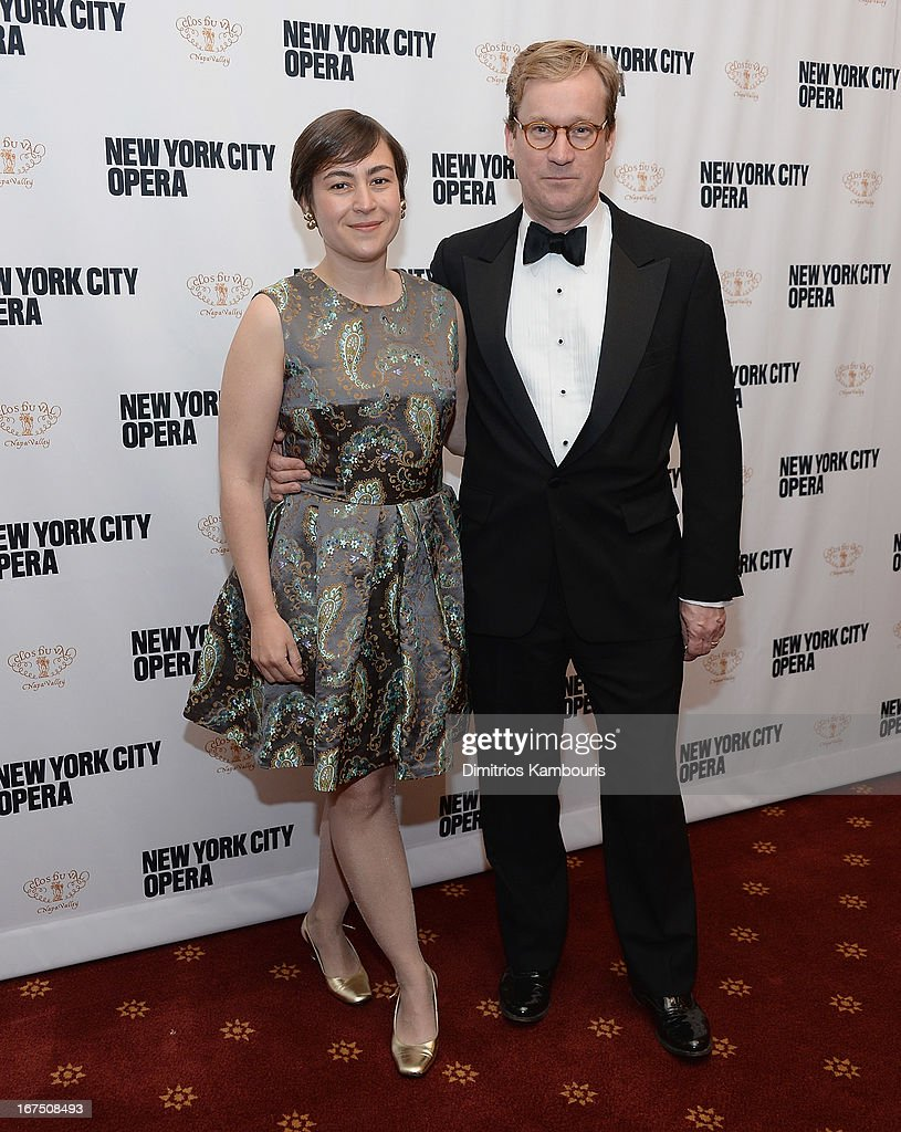 George Steel and guest attend the 2013 New York City Opera Spring Gala at New York City Center on April 25, 2013 in New York City.