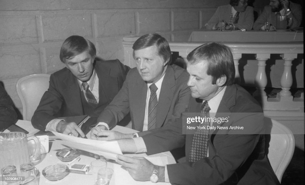 <a gi-track='captionPersonalityLinkClicked' href=/galleries/search?phrase=George+Steinbrenner&family=editorial&specificpeople=220576 ng-click='$event.stopPropagation()'>George Steinbrenner</a> at press conference with Gene Michael and new manager Dick Howser.