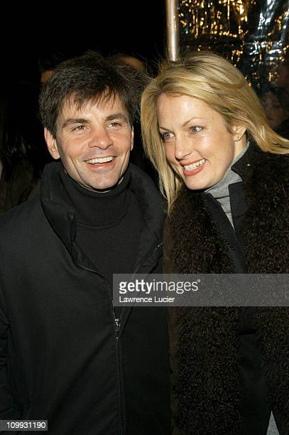 George Stephanopoulos and Alexandra Wentworth during Cold Mountain New York Premiere Outside Arrivals at Ziegfeld Theater in New York City New York...