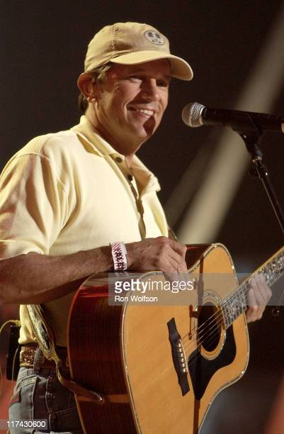 George Strait at rehearsals for the 39th Annual Academy of Country Music Awards at the Mandalay Bay Resort in Las Vegas