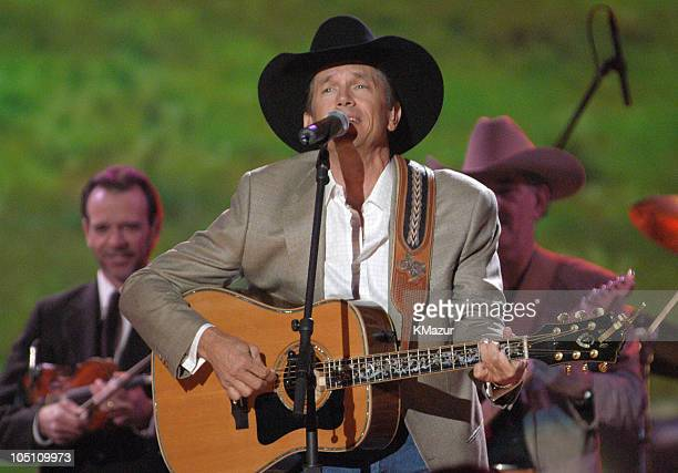 George Strait performs during 38th Annual Academy of Country Music Awards Show at Mandalay Bay Event Center in Las Vegas Nevada United States