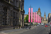 George street and George Square, Glasgow