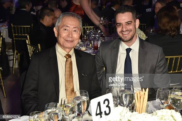 George Takei and Daniel Shapiro attend the HetrickMartin Institute's ...