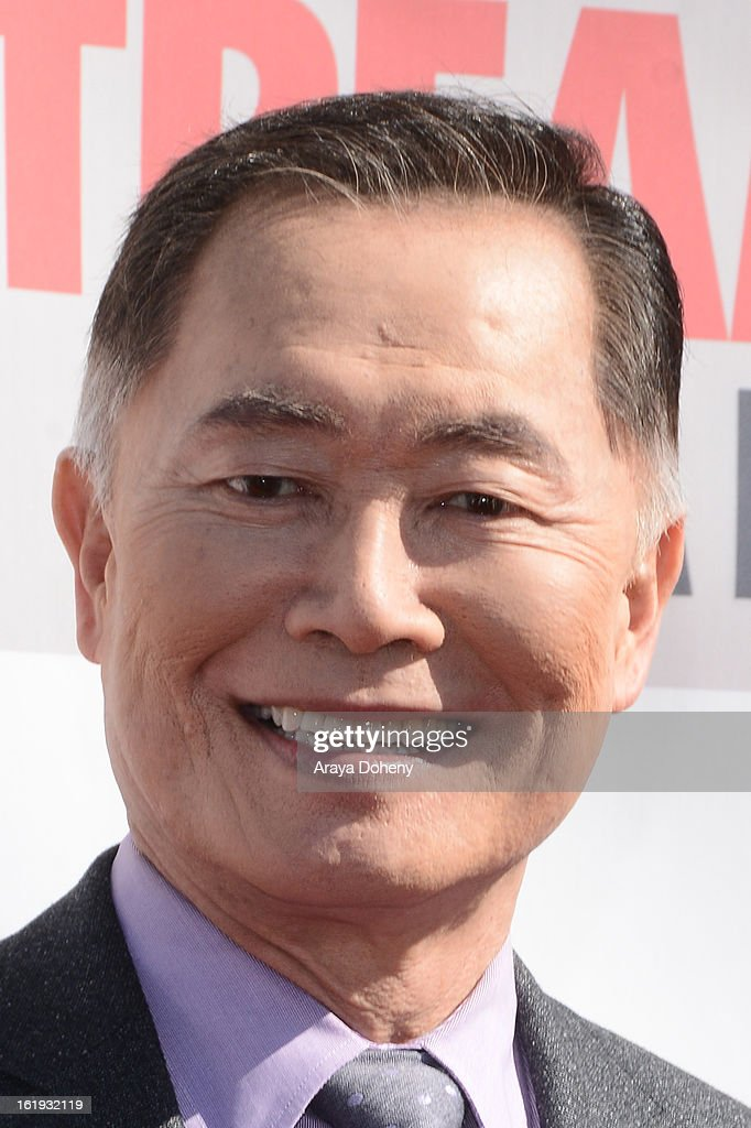 <a gi-track='captionPersonalityLinkClicked' href=/galleries/search?phrase=George+Takei&family=editorial&specificpeople=1534988 ng-click='$event.stopPropagation()'>George Takei</a> arrives at the 3rd Annual Streamy Awards at The Hollywood Palladium on February 17, 2013 in Los Angeles, California.