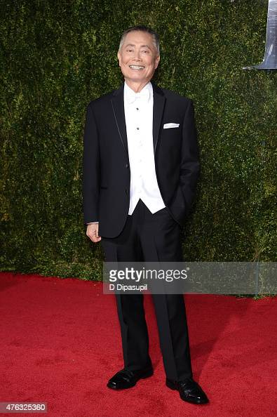 George Takei attends American Theatre Wing's 69th Annual Tony Awards at Radio City Music Hall on June 7 2015 in New York City