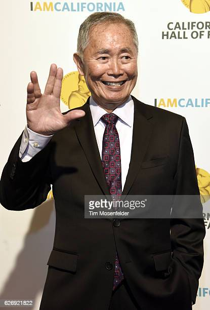 George Takei attends the 10th Annual California Hall of Fame Awards at The California Museum on November 30 2016 in Sacramento California