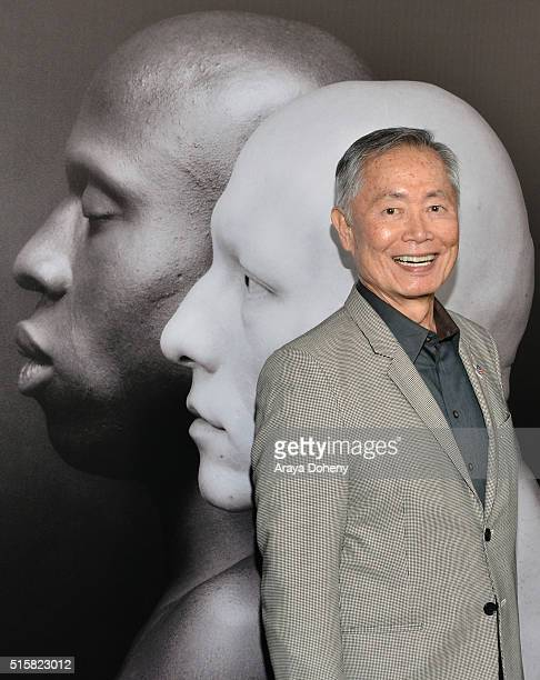 George Takei attends the premiere of HBO Documentary Films' 'Mapplethorpe Look At The Pictures' on March 15 2016 in Los Angeles California