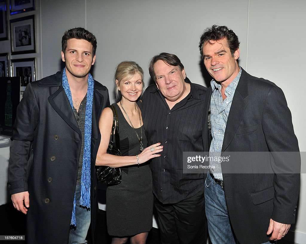 George Tchortov, Catherine Gourdie, Don Carmody and Richard Clarkin attend Canada's Top Ten Announcement/Press Conference at TIFF Bell Lightbox on December 4, 2012 in Toronto, Canada.