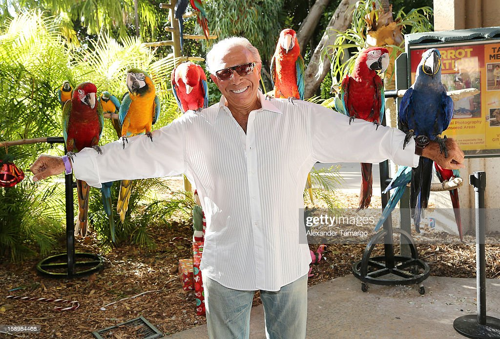 George Teichner is seen during the Jungle Island VIP Safari Tour at Jungle Island on January 4, 2013 in Miami, Florida.