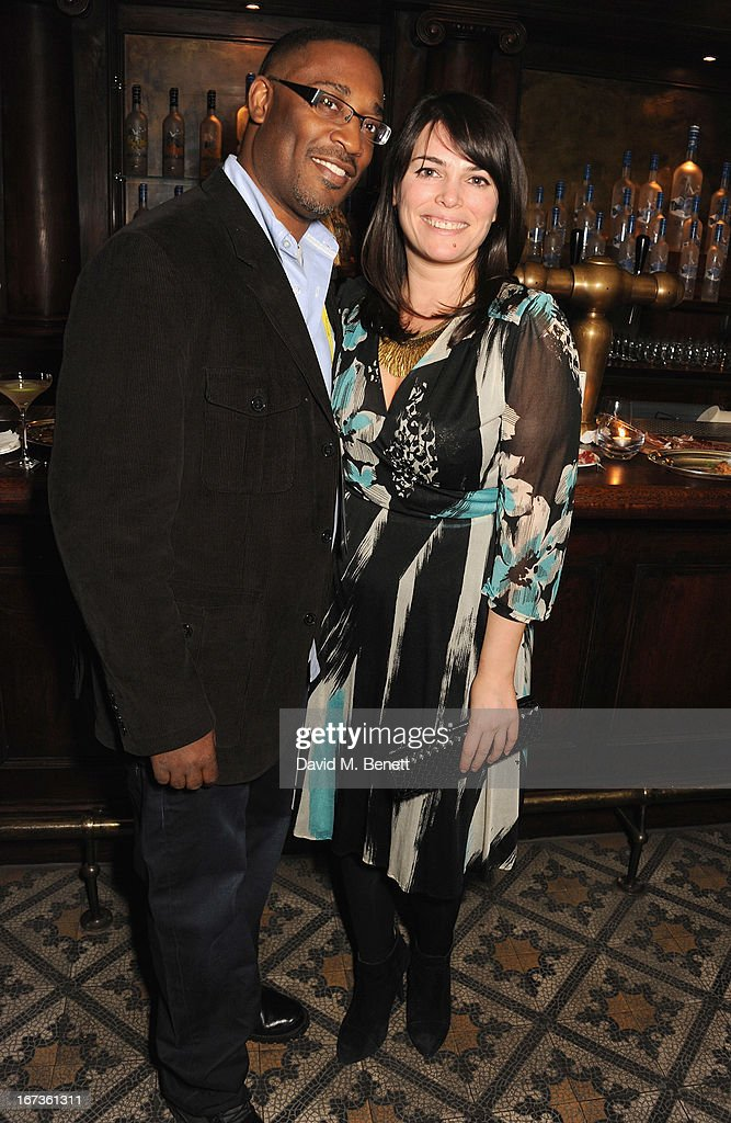 George Tillman Jr and Natasha Curtin attend Grey Goose hosted Sundance London Filmmaker Dinner at Little House on April 24, 2013 in London, England.