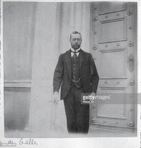 George V then Prince of Wales Second son of Edward VII King of Great Britain and Ireland from 1910 to 1936