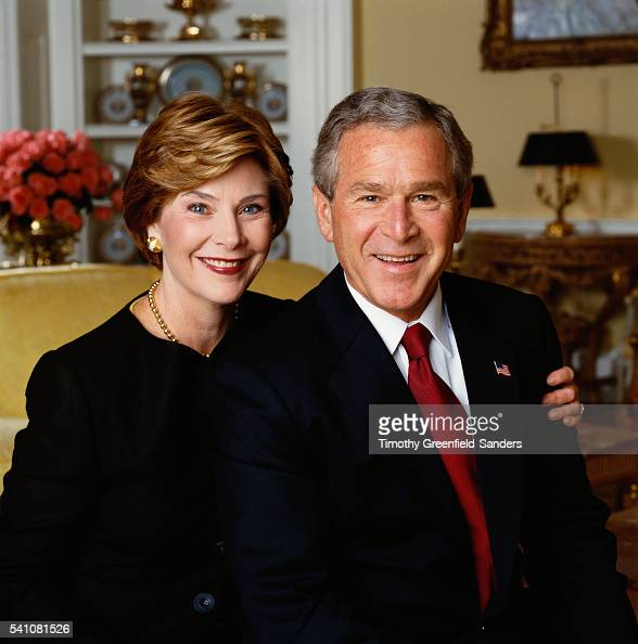 George w and laura bush opinion you
