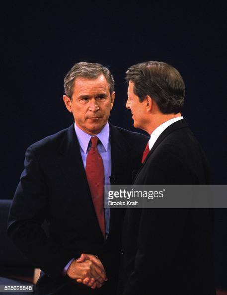 george bush and al gores presidential debate on education Over the 56 years that presidential debates have been televised, one of   against vice president al gore, the critics weren't so kind to bush in.