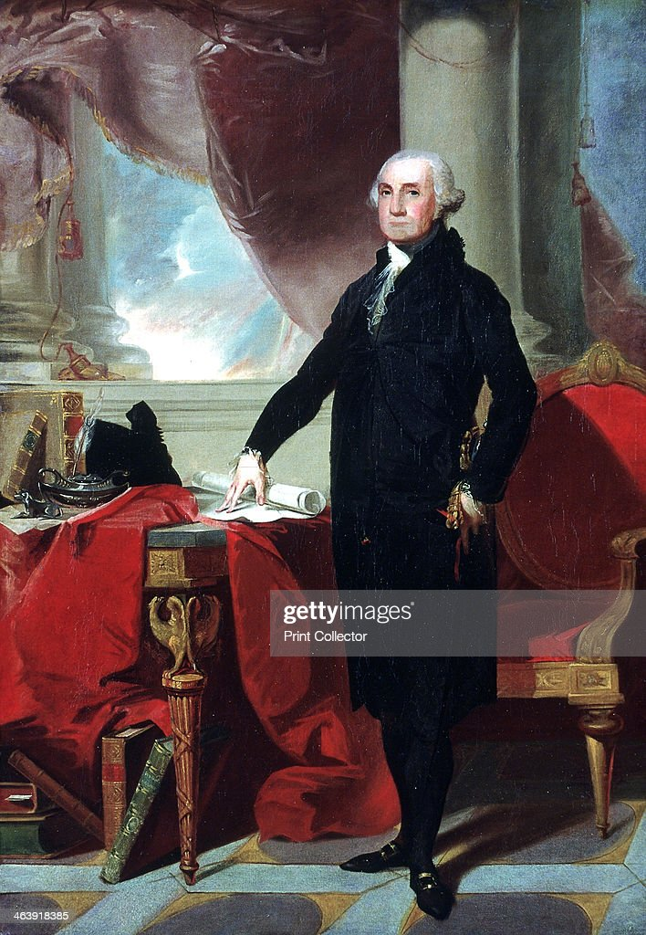 George Washington 1796 lst President of the USA National Portrait Gallery London