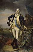 George Washington after the Battle of Princeton on January 3 1777 Found in the collection of Musée de l'Histoire de France Château de Versailles