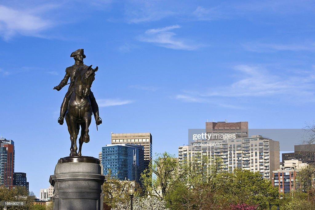 George Washington at the Boston Garden