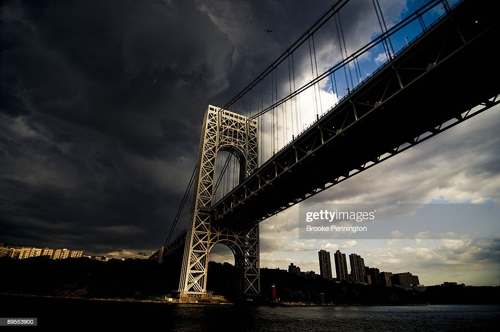 George Washington Bridge : Stock Photo