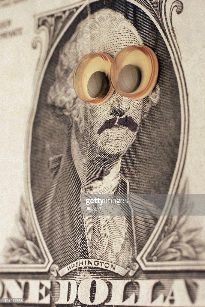 George Washington in Disguise : Stock Photo