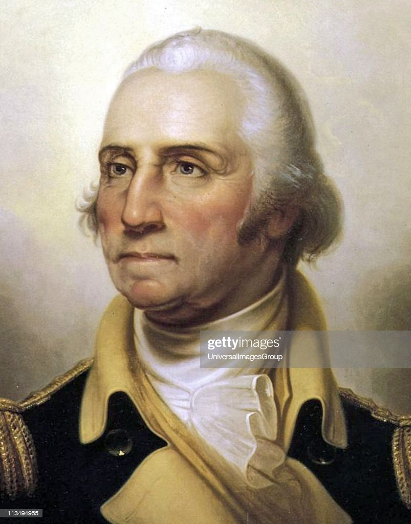 George Washington Painted by Rembrandt Peale 1795 1823 Oil on Canvas
