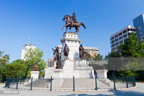 George Washington Statue In Richmond, Virginia