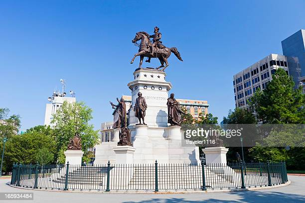 George Washington Statue In Richmond, Virginia