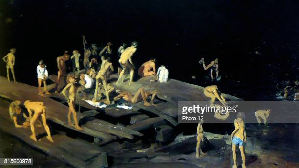 George Wesley Bellows was an American painter Fortytwo Kids 1907 Oil on canvas
