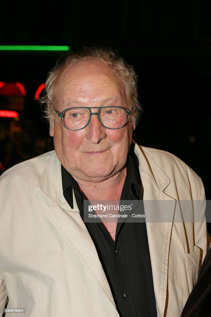 George Wilson attends the opening night of the August Strindberg play 'Creanciers.'