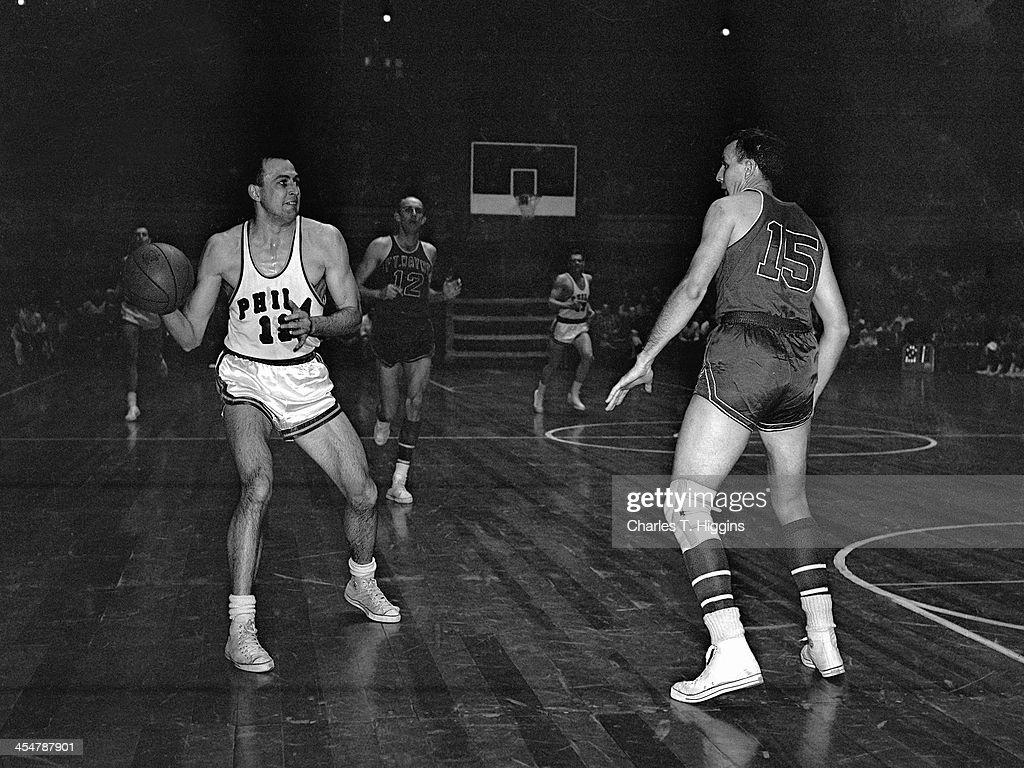 1956 NBA Finals Fort Wayne Pistons v Philadelphia Warriors