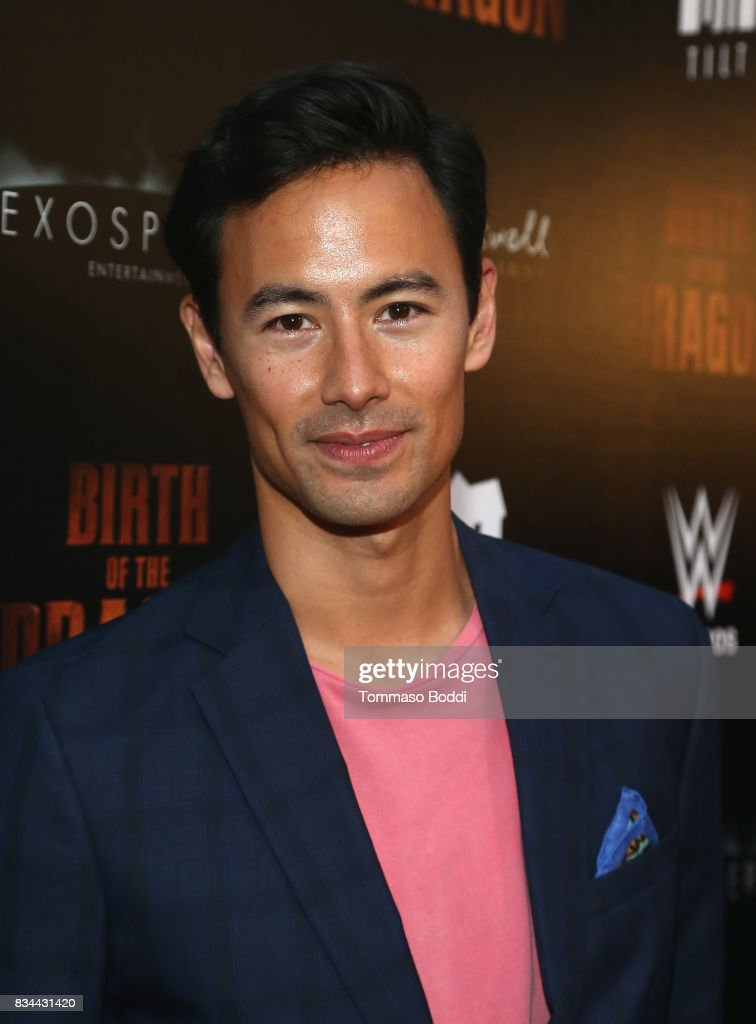 George Young attends the Premiere Of WWE Studios' 'Birth Of The Dragon' at ArcLight Hollywood on August 17, 2017 in Hollywood, California.