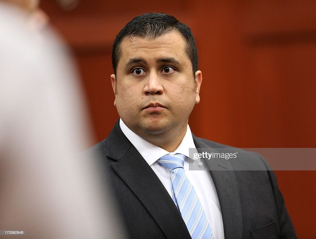 George Zimmerman leaves court at the end of his 16th day of his trial in Seminole circuit court, July 1, 2013 in Sanford, Florida. Zimmerman is charged with second-degree murder for the February 2012 shooting death of 17-year-old Trayvon Martin.