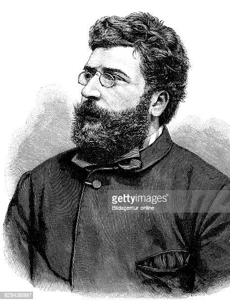 Georges bizet 1838 1875 french composer historical illustration circa 1893
