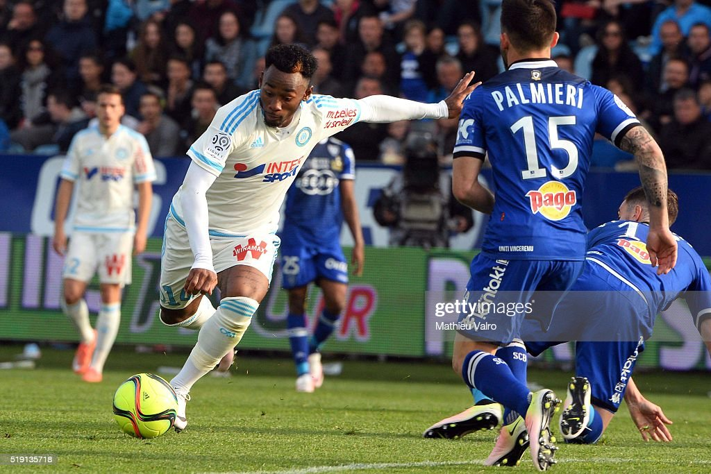 Georges Kévin Nkoudou Wallpaper: SC Bastia V Olympique De Marseille - Ligue 1