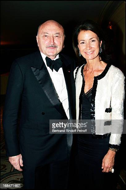 Georges Kiejman and Mrs Thierry Breton Arop gala at the Garnier opera with a ballet representation by John Neumeier 'La Dame Aux Camelias' according...