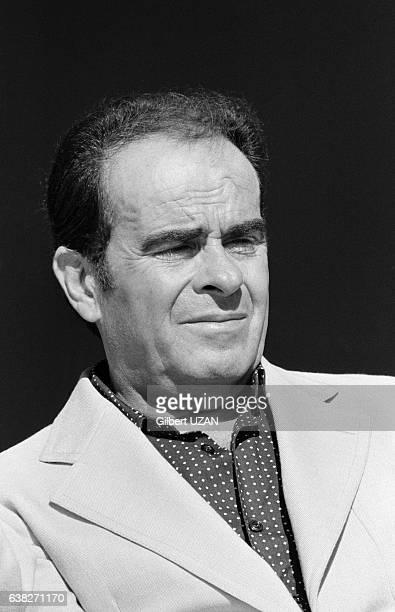 Georges Marchais lors de la Fête de l'Humanité à La Courneuve France le 9 septembre 1978
