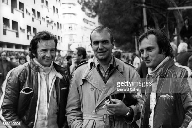Georges Martin JeanPierre Beltoise Chris Amon Grand Prix of Monaco Circuit de Monaco 03 June 1973 JeanPierre Beltoise and teammate Chris Amon with...
