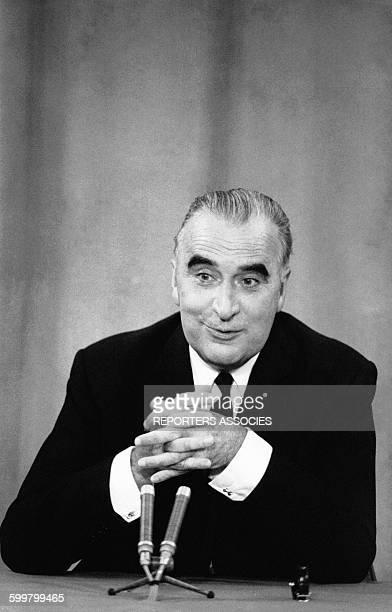 Georges Pompidou circa 1960 en France