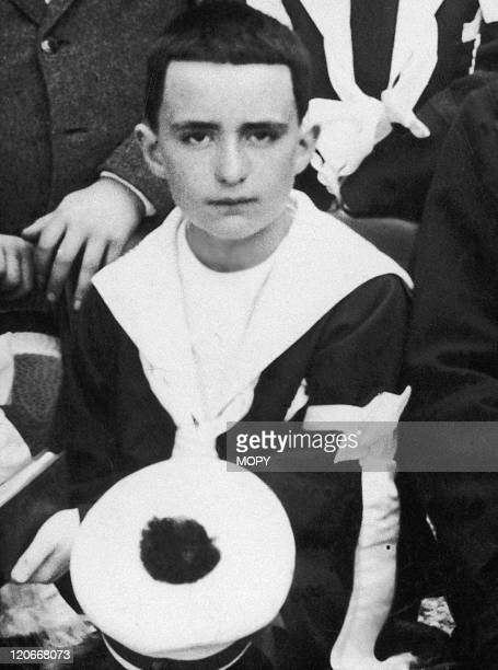 Georges Pompidou in France The day of his first communion