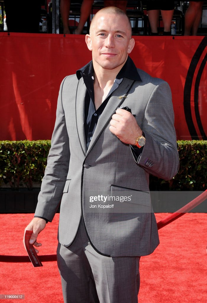 Georges St. Pierre arrives at the 19th Annual ESPY Awards at Nokia Theatre L.A. Live on July 13, 2011 in Los Angeles, California.