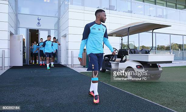 GeorgesKevin N'Koudou during the Tottenham Hotspur training session at Tottenham Hotspur training centre on September 8 2016 in Enfield England