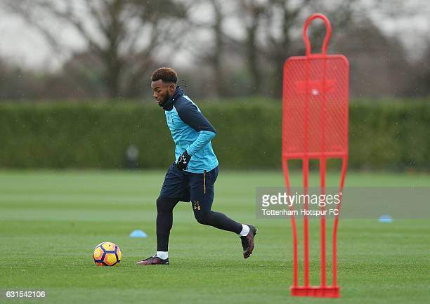 GeorgesKévin N'Koudou of Tottenham during a Tottenham Hotspur Training session at Tottenham Hotspur Training Centre on January 12 2017 in Enfield...