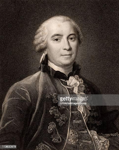 GeorgesLouis Leclerc Comte de Buffon French naturalist author of 44 volume Histoire Naturelle 174967 Stipple engraving after portrait of Henri...