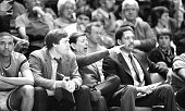 Georgetown unravels St John's s 8569 Unhappy Lou Carnesecca coach of St John's yells at officials and glum assistants look on as No 1 Redmen were...