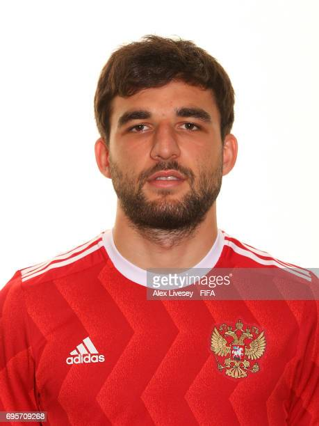 Georgi Dzhikiya of Russia during a portrait session at the Lotte Hotel on June 13 2017 in Moscow Russia
