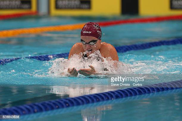 Georgia Bohl competes in the Women's 50m Breaststroke final during the Hancock Prospecting Australian Swimming Championships at the Sydney Aquatic...
