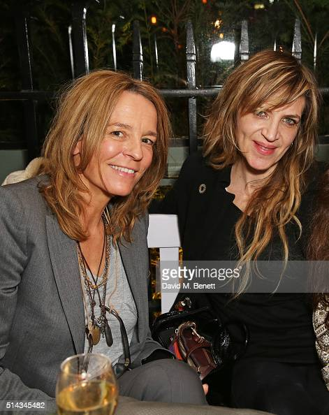 Georgia Byng and Martha Fiennes attend The Ivy Kensington Brasserie's International Women's Day event and the launch of their new terrace on March 8...