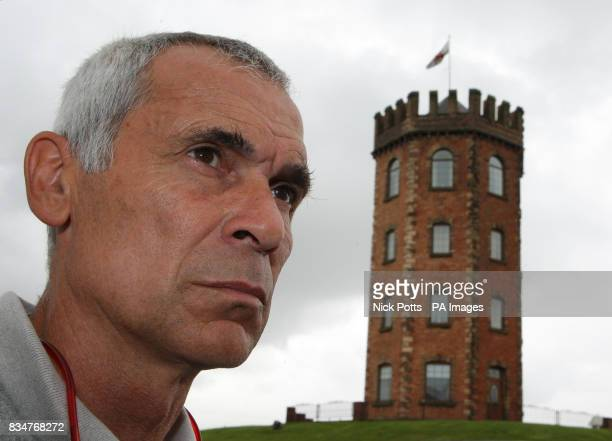 Georgia coach Hector Cuper during a photo call at The Towers Hotel in Swansea