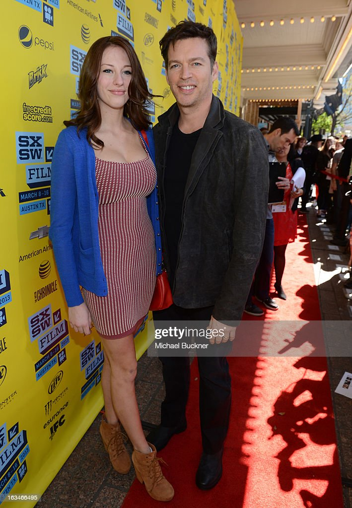 Georgia Connick (L) and musiican Harry Connick Jr. attend the screening of 'When Angels Sing' during the 2013 Music, Film + Interactive Festival at the Paramount Theatre on March 10, 2013 in Austin, Texas.