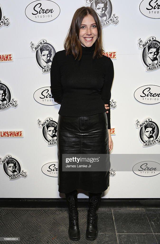 Georgia Ford attends 'Milkshake' Official Cast And Filmmakers Brunch Sponsored By Siren on January 20, 2013 in Park City, Utah.