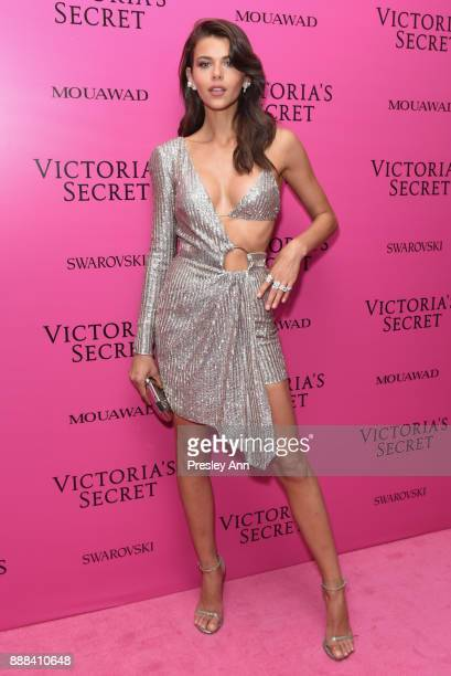 Georgia Fowler attends 2017 Victoria's Secret Fashion Show In Shanghai After Party at MercedesBenz Arena on November 20 2017 in Shanghai China