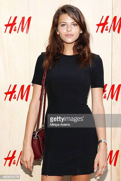 Georgia Fowler attends HM Summer Camp Party at Cafe de la Esquina on June 19 2014 in New York City